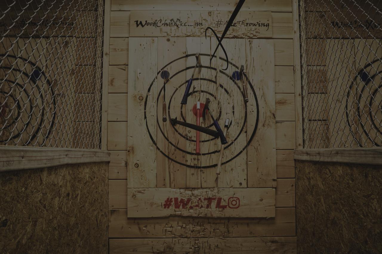woodchux ax target